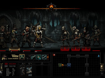 Darkest Dungeon Kämpfe
