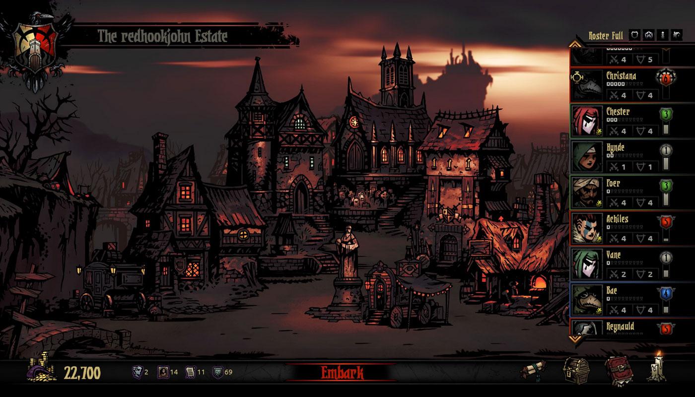 Darkest Dungeon Hamlet