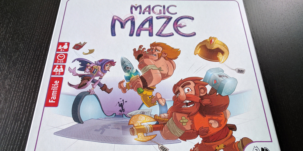 Magic Maze Front