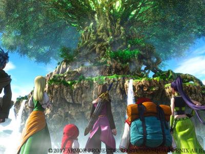 Die Heldengruppe aus Dragon Quest XI
