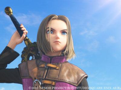 Der Protagonist aus Dragon Quest XI
