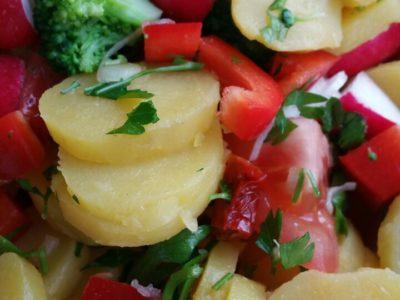 Wochenmarkt Kartoffelsalat
