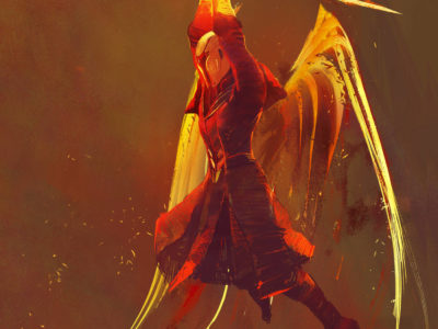 Warlock Dawnblade