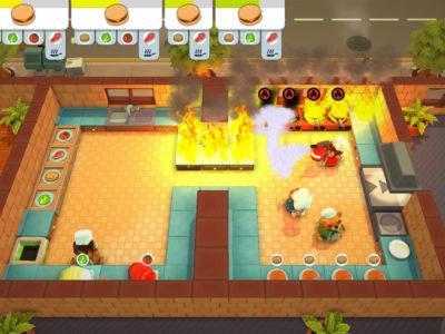 Einmal nicht aufgepasst und die Küche steht in Flammen