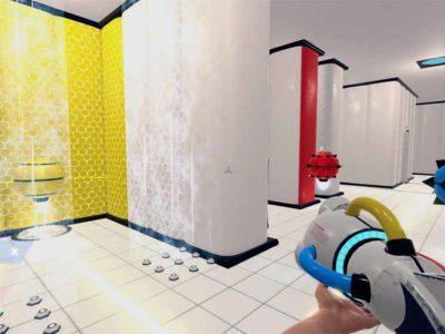 Droiden werden von Wänden in gleicher Farbe angezogen