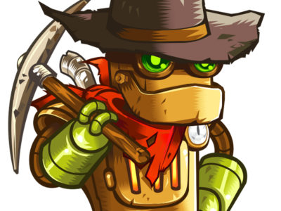 Rusty aus SteamWorld Dig 1