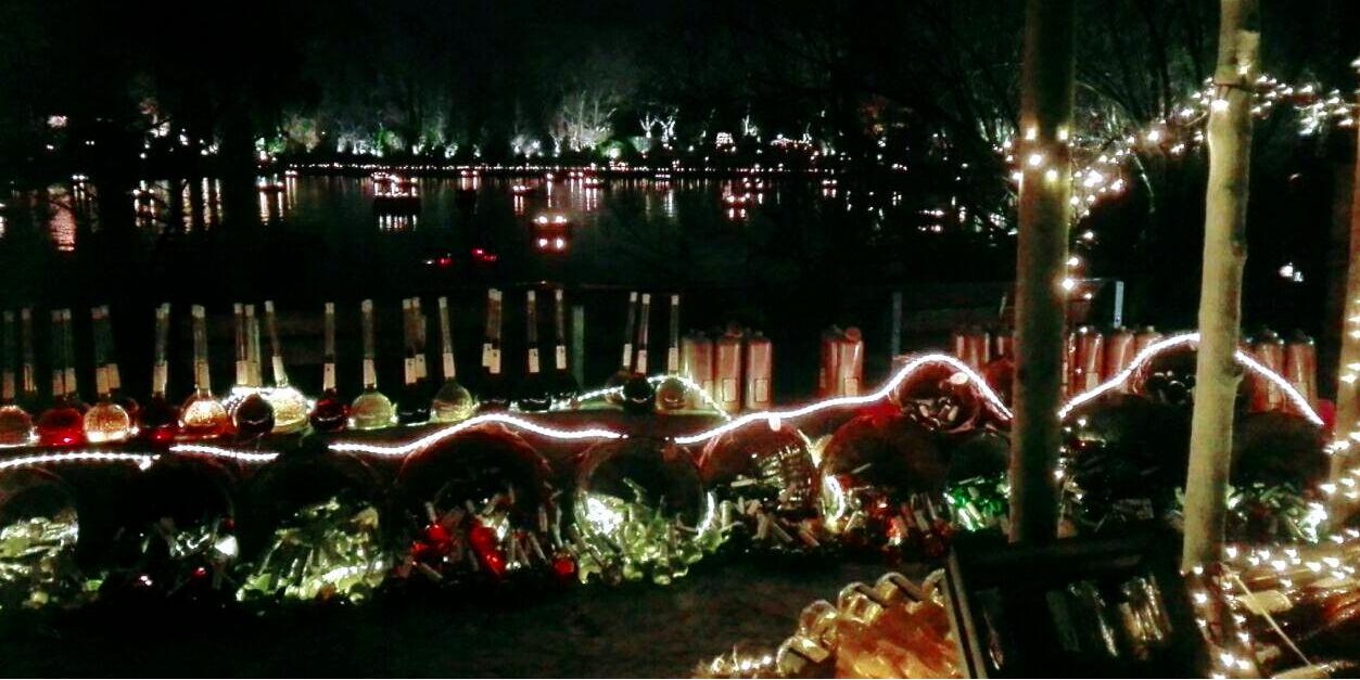 Dortmund Weihnachtsmarkt.Phantastischer Mittelalterlicher Lichter Weihnachtsmarkt In