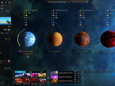 Planetenübersicht