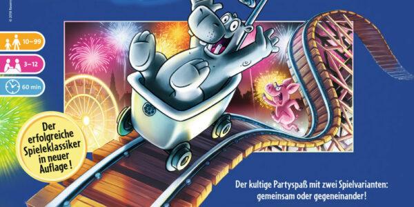 Coming soon: Das Nilpferd in der Achterbahn