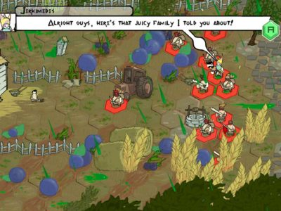 Jerkimedes trifft Horatio in Pit People