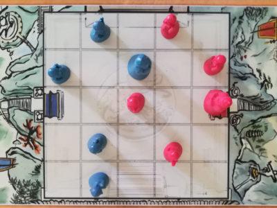 Im Spiel von Onitama
