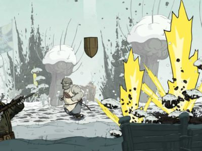 Bombardierung in Valiant Hearts