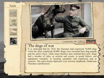 Die Hunde des Krieges in Valiant Hearts