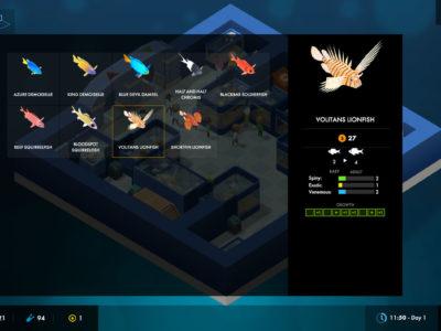 Fischübersicht in Megaquarium