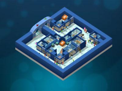 Das Aquarium in Megaquarium