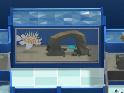 Fische in Megaquarium
