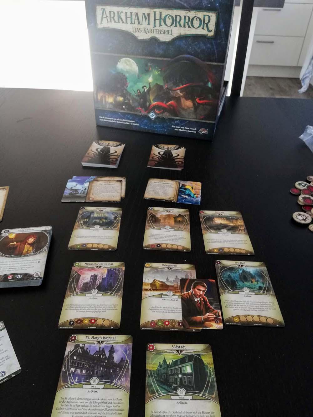 Spiel Das Kartenspiel Arkham Horror