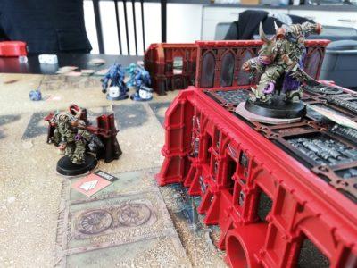 Tau vs. Death Guard