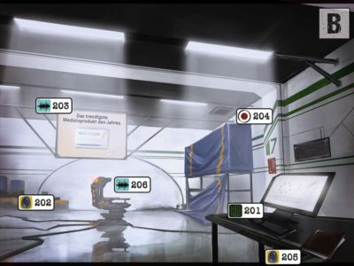 Ein Raum der Monochrome AG