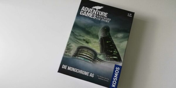 Coming soon: Adventure Game – Die Monochrome AG