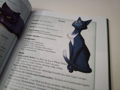 Die Katze Blake